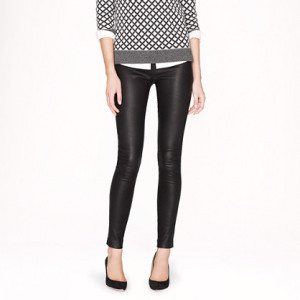 J Crew Leather Pants 2