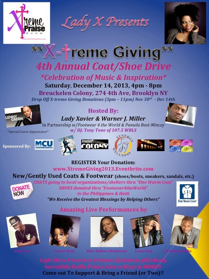 xtreme giving flyer