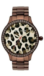 Betsy Johnson Leopard Print watch Nordstram.com