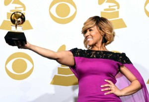 Erica Campbell Grammy Win