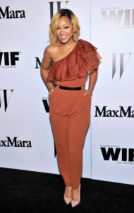 LOS ANGELES, CA - JUNE 10: Actress Meagan Good attends MaxMara And W Magazine Cocktail Party To Honor The Women In Film MaxMara Face Of The Future, Rose Byrne at Chateau Marmont on June 10, 2014 in Los Angeles, California. (Photo by Donato Sardella/Getty Images for MaxMara)